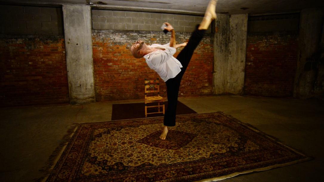 Dancer Brandon Ellis. Photo by Michael Barletta/Courtney Rile.