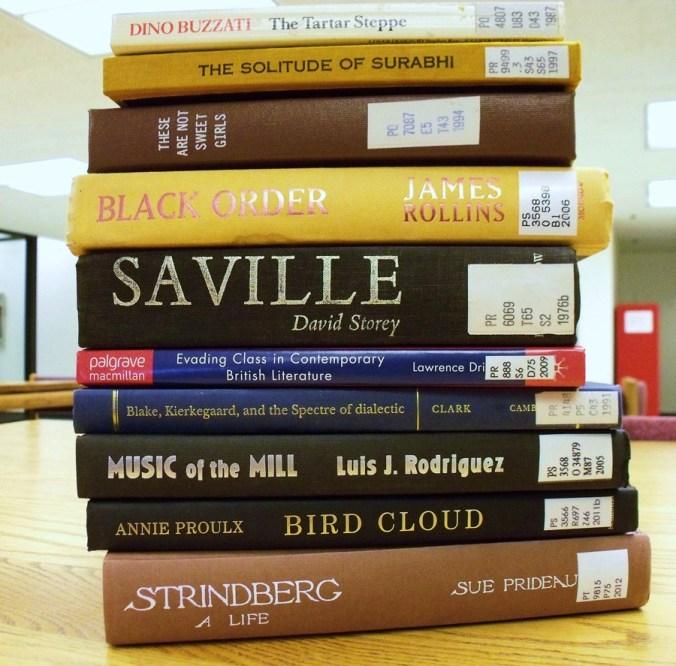 Random Library Books