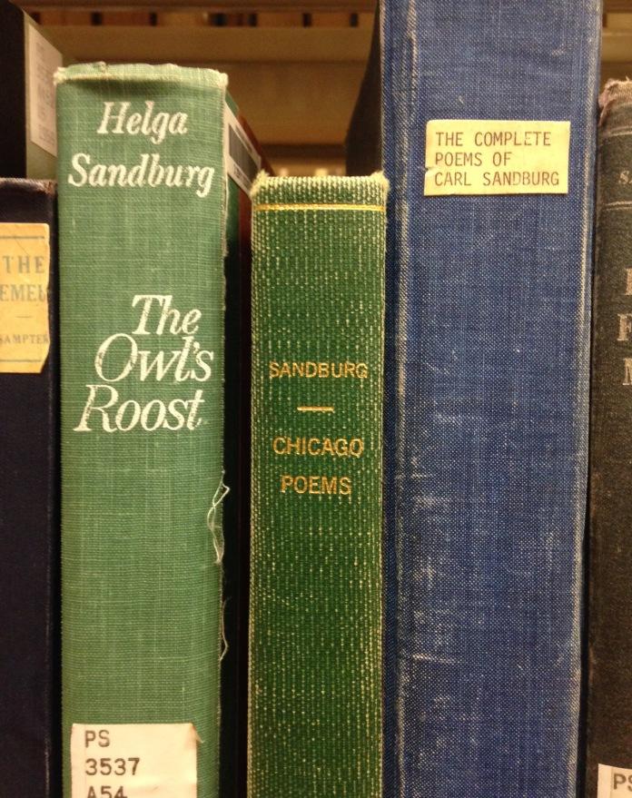 Chicago Poems by Carl Sandburg.