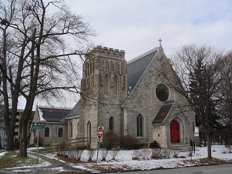 Grace Episcopal Church. Photo by ZeWrestler.