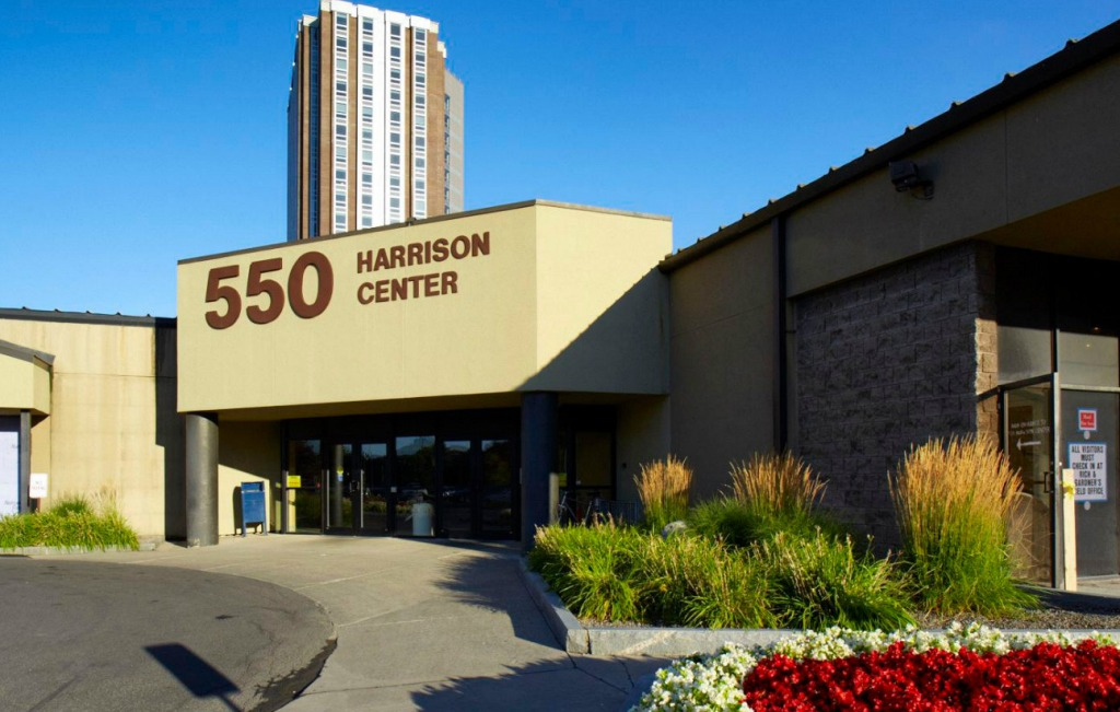 550 Harrison Center. Photo by Sutton Real Estate Company.