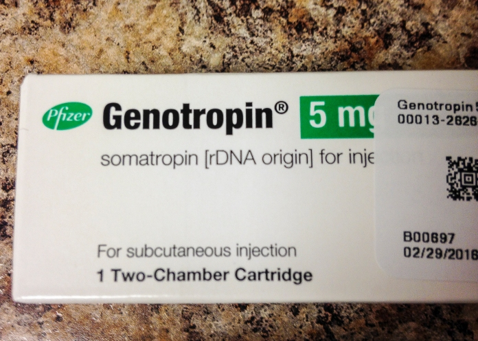 Genotropin, a current form of growth hormone.