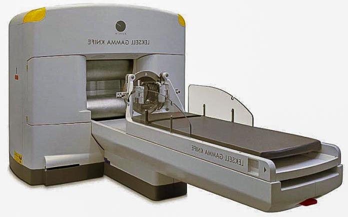 Gamma Knife machine.