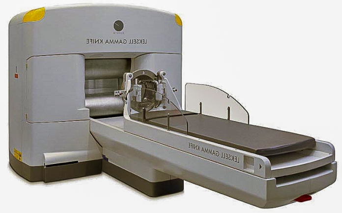Gamma Knife machine.