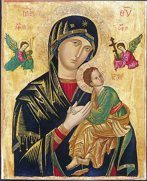 Our Lady of Perpetual Help.
