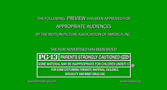Motion Picture Association of America graphic.