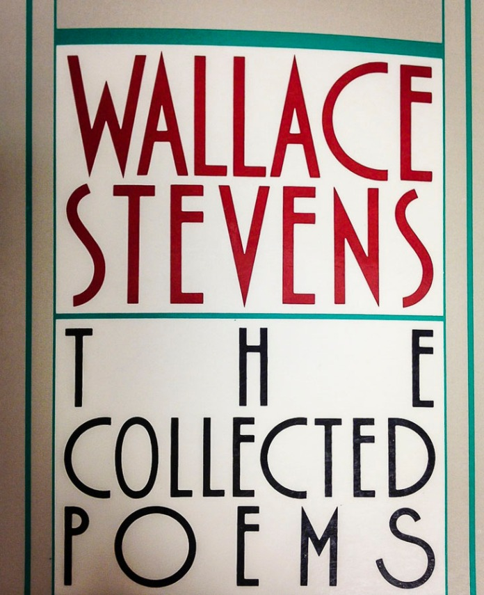 The Collected Poems of Wallace Stevens.