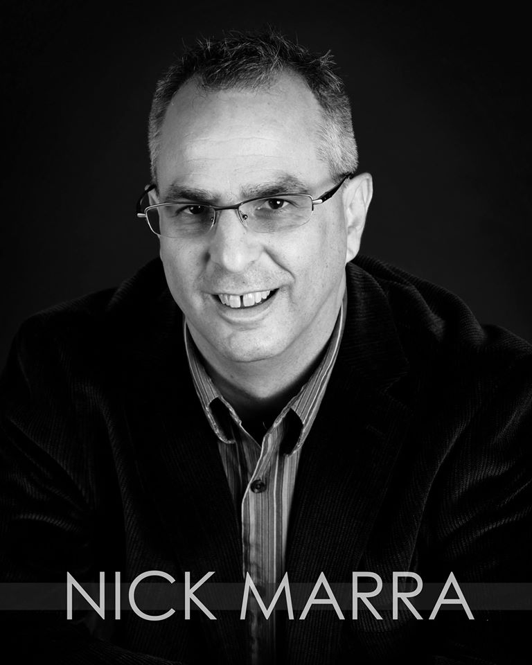 Nick Marra Headshot. Photo Courtesy of Nick Marra Facebook Page.