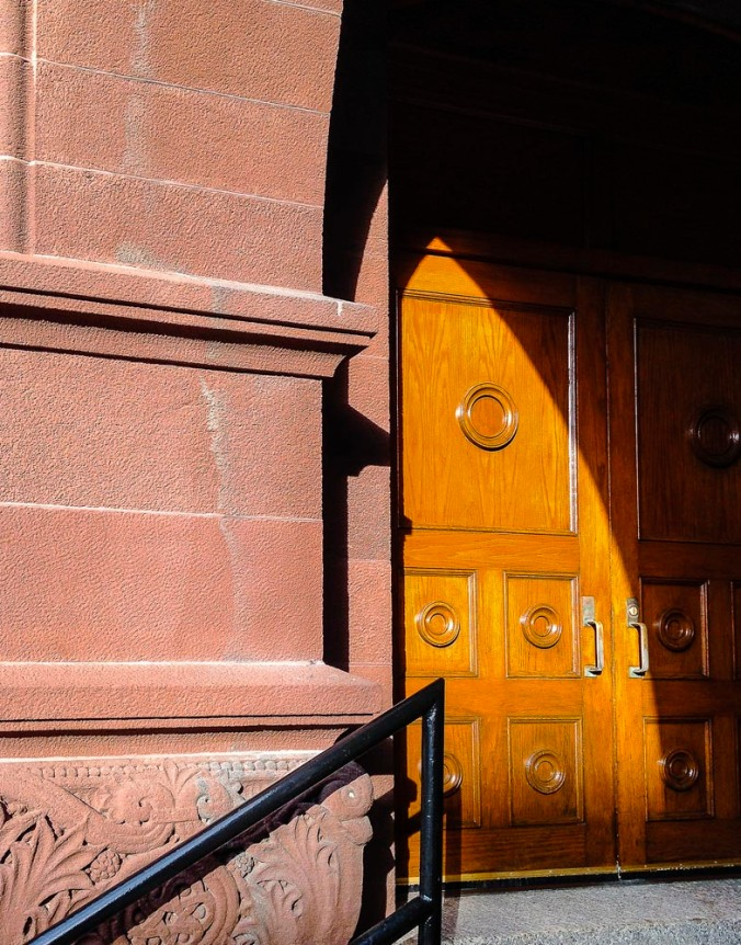 Crouse College Door (Photo by Francis DiClemente)
