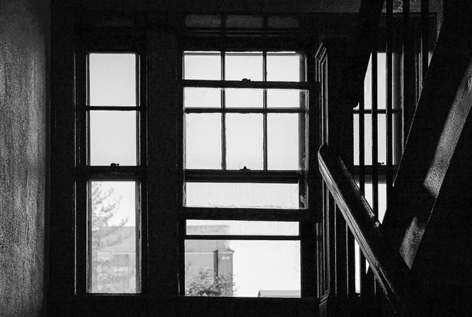 Apartment Stairwell and Window (Photo by Francis DiClemente)