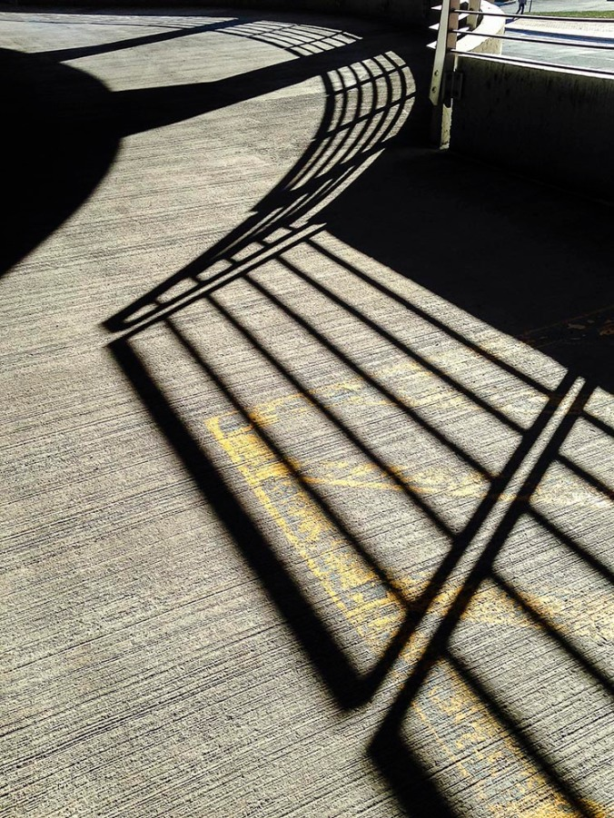 Parking Garage Sunlight (Photo by Francis DiClemente)