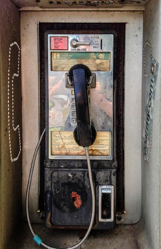 Pay Phone (Photo by Francis DiClemente)