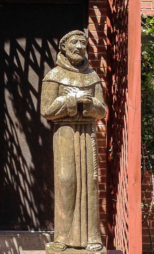 Saint Francis in Sunlight (Photo by Francis DiClemente)