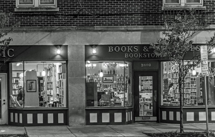 Books and Melodies bookstore in Syracuse, New York.