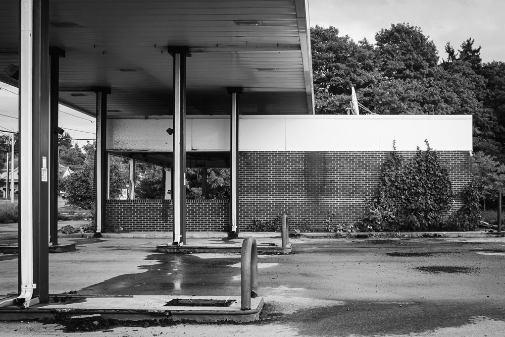 Empty Gas Station (photo by Francis DiClemente)