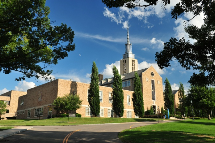 The campus of St. John Fisher College. Photo by St. John Fisher College