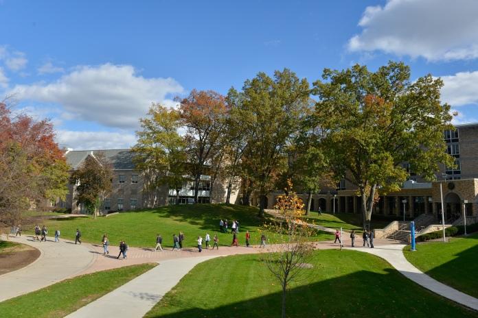 St. John Fisher College in Rochester, New York. Photo by St. John Fisher College.
