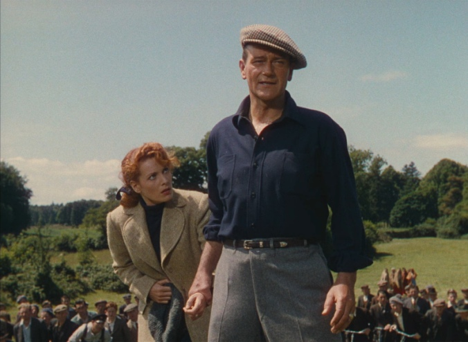 Maureen O'Hara and John  Wayne