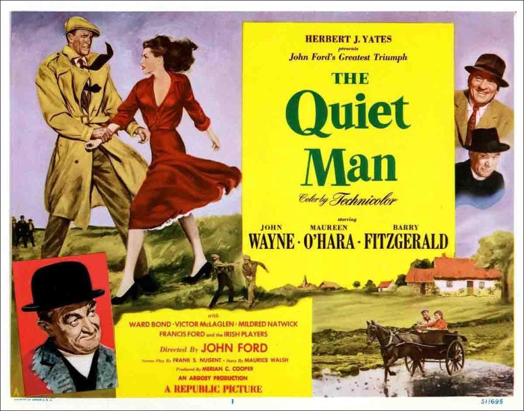 The  Quiet Man, 1952.