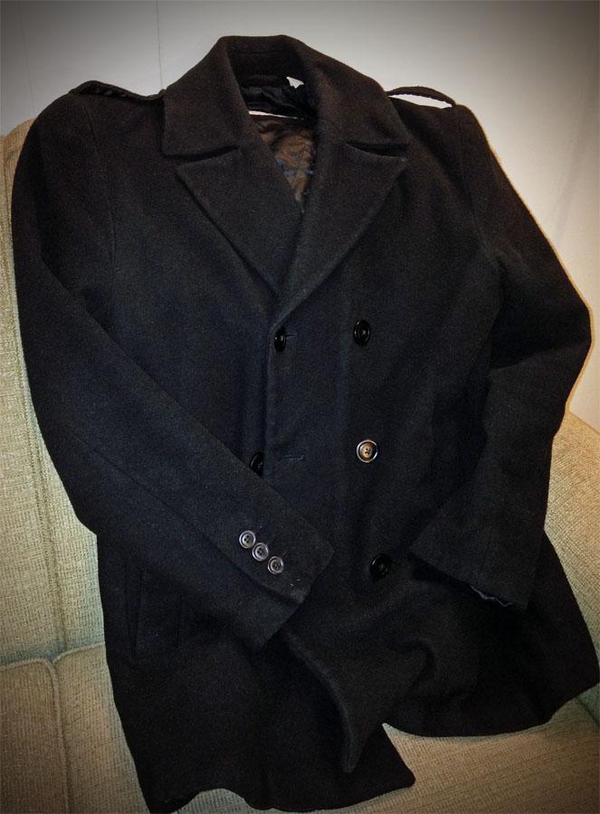 My trusty pea coat.