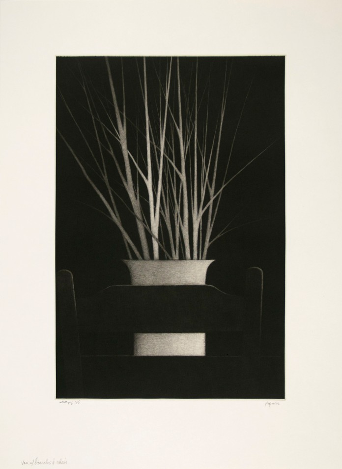 Vase with Branches and Chair (2013)