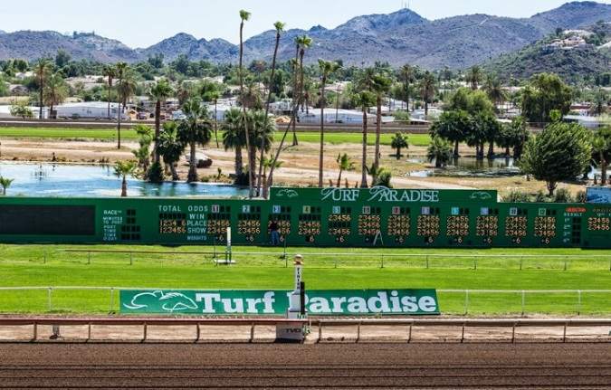 Turf Paradise in Phoenix. Photo credit: Q-Racing Journal