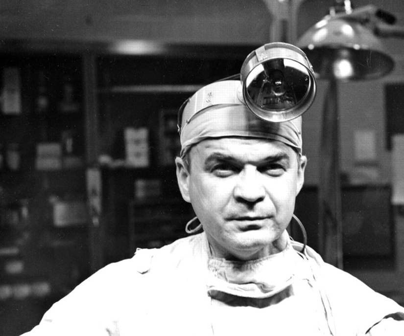 Renowned heart surgeon C. Walton Lillehei. Photo credit: University of Minnesota.